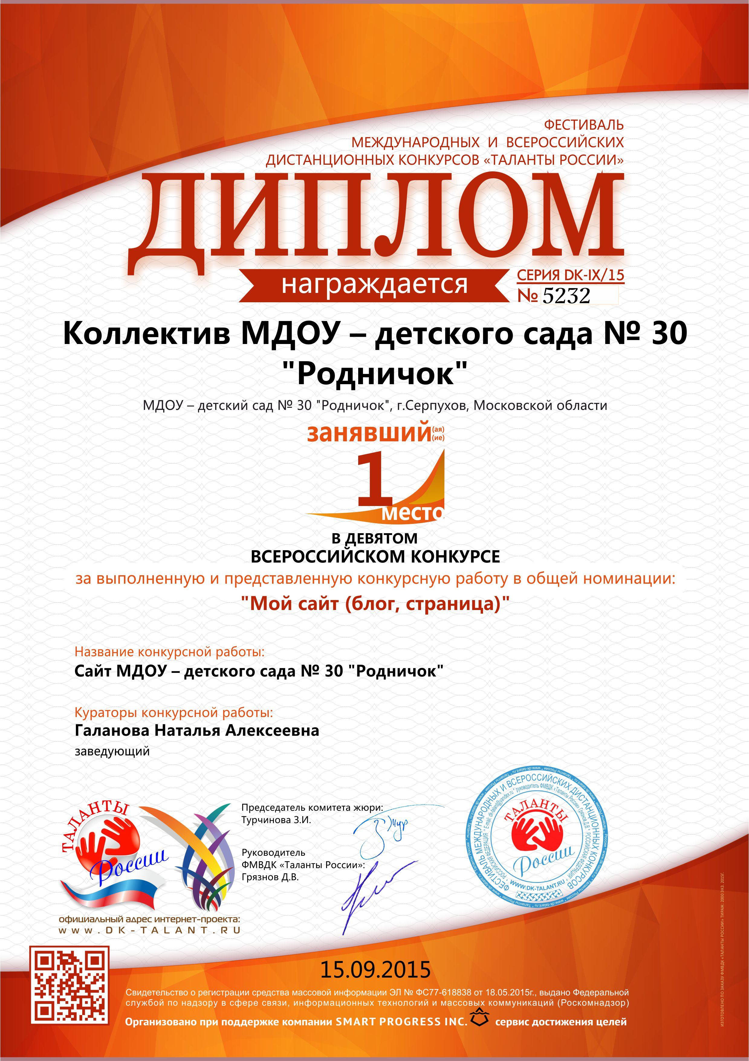 Международные и всероссийские дистанционные конкурсы